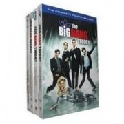 The Big Bang Theory seasons 1-4 DVD boxset